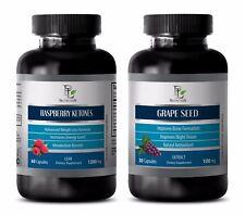Fat burner supplement for men - RASPBERRY KETONES – GRAPE SEED EXTRACT COMBO