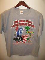 Vietnam War Veterans MIA POW 2002 Annual Reunion Kokomo Indiana T Shirt Large