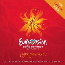 Various Artists - Eurovision Song Contest, Baku 2012 - CD album