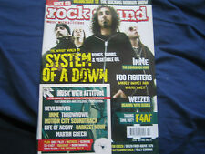 Rock Sound #74 Jul 2005. Includes Free CD. System Of A Down, InMe, Foo Fighters