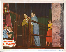 WOMAN IN HIDING orig 1950 11x14 lobby card movie poster IDA LUPINO/HOWARD DUFF