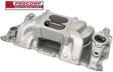 PC 22026 Air Gap Aluminum Intake Manifold 283 305 327 350 383 400 SBC CHEVY V8