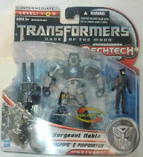 TRANSFORMERS DOTM MechTech Human Alliance -Sergent Noble + Tailpipe + Pinpointer