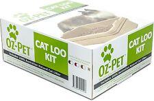 Oz-Pet Cat Loo Kit Kitty Litter tray  -  Beige