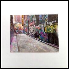 Melbourne Australia Postcard Graffiti Street Art Laneways