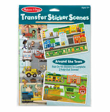 Melissa and Doug Transfer Sticker Scenes Around the Town  #9530