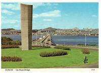 Dundee: The Tay Road Bridge, Scotland Rare Vintage Postcard