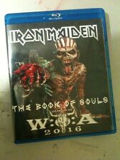 Iron Maiden Concert Blu Ray Wacken Germany The Book Of Souls Tour 2016 PAL/ NTSC