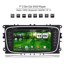 "7"" 2DIN Coche Radio Estéreo DVD Player GPS AM/FM para Ford Mondeo Focus S-Max EB"