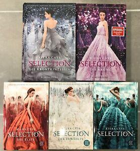 Selection 5 Bücherreihe von Kiera Cass / Fischer Verlag