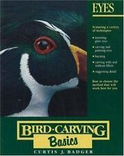 Bird Carving Painting Pattern Instruction Lot of 3 Anthony Hillman Curtis Badger
