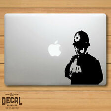 Banksy Police Officer Macbook Sticker / Macbook Decal / Cover / Skin