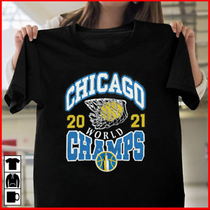 HOT!! Chicago Sky Homage 2021 WNBA Finals Champs T-Shirt Size S-5XL