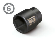 TEKTON 47780 1/2-Inch Drive by 30 mm Shallow Impact Socket, Cr-V, 6-Point