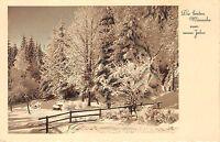BG4695 new year neujahr landscape winter  germany  greetings