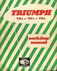 Triumph TR2 - TR3 - TR4. Workshop Manual.