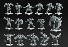 Orc Fantasy Football Team Compatible with Blood Bowl