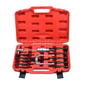 16pcs Bearing Extractor Kit Set Remover Bushes Puller Inner Internal Blind