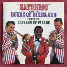 LOUIS ARMSTRONG AND THE DUKE OF DIXIELAND  CD  VOL. 1  BOURBON ST. PARADE