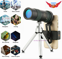 10-300X40mm HD Optical Zoom Monocular Prism Binocle Telescope With Tripod & Clip