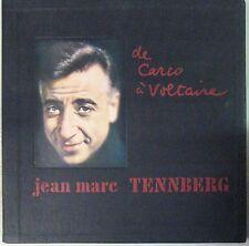 Jean-Marc Tennberg Coffret 33 Tours x 2 de Carco à Voltaire