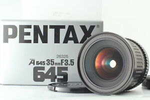 [MINT in BOX] SMC Pentax A 645 35mm F/3.5 Wide Angle Lens for 645 N NII JAPAN
