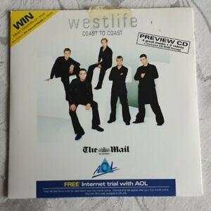 WESTLIFE - COAST TO COAST CD (Daily Mail)