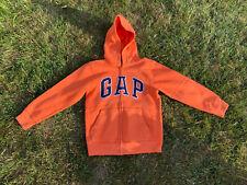 GAP Kids Orange Zip Hoodie Age 8-9