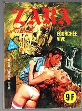 ZARA LA VAMPIRE n°92 # ECORCHEE VIVE # 1983 ELVIFRANCE