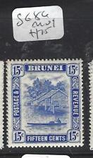 BRUNEI  (PP0905B) 15C RIVER SG 86   MOG