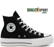Converse CT All Star Lift Hi Nero Platform Scarpe Donna Sneakers 560845C