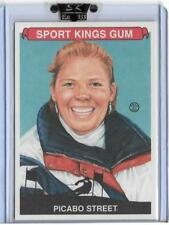 AWESOME 2007 SPORT KINGS PICABO STREET CARD #40 ~ OLYMPIC ALPINE SKIING LEGEND