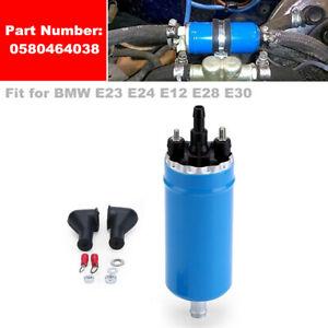 High Pressure 12V Car Fuel Pump External Connector for BMW E23 E24 E12 E28 E30