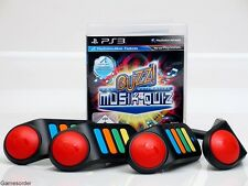 Buzz - Das Ultimative Musik Quiz + 4 Wireless Funk Buzzer °Playstation 3 Spiel°