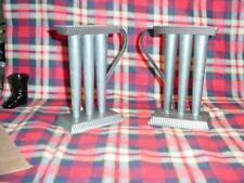 "2 - 3 Tube 6"" Tin  Candle Holder and Candel Mold"