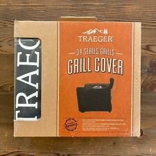 New in Box Traeger Grills Pro 34 Series Full Length Grill Cover Black
