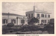 LA MADDALENA:  Biblioteca e Circolo Ufficiali