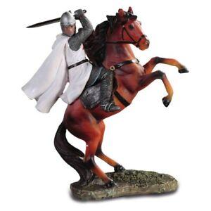 Kreuzritter auf Pferd Templer