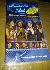 American Idol (VHS, 2002) (New & Sealed) Kelly Clarkson
