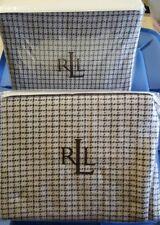 Ralph Lauren Yorkshire Rose Wool with Fringe Euro Shams Two Nip