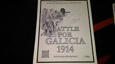 Battle for Galicia 1914 Oregon Consim Games ***MINT and UNPUNCHED*** 2006 RARE