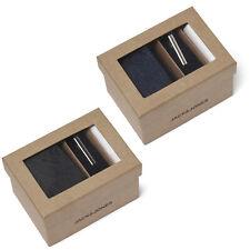 Jack & Jones Tie Gift Box Tie Clip Pocket Square Formal Smart Mens JACRick