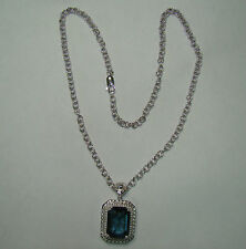 "925 Sterling Silver Link Necklace W/SAI Pendant - 22 Grams - 18"" (Item# H502)"