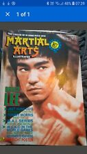 bruce lee,cover of martial arts illustrated magazine rare.