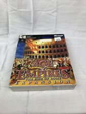 Age Of Empires: The Rise Of Rome Expansion *New & Sealed*