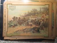 War Art History Newspaper 1914 DEFENCE OF THE  GATE OF LONGBOYAU BY NADHERNY