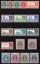 Indien India 1937 Freimarken Georg VI  146-163 Falzrest White Gum MLH Mint RAR