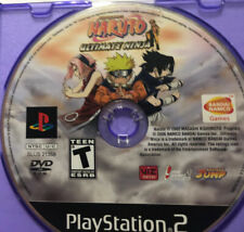 Naruto Ultimate Ninja Playstation 2 PS2 Video Game Disc Only Tested