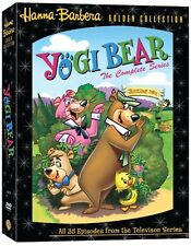 The Yogi Bear Show:Complete Series-4xDVD, Boxed Set. Brand New In Shrink!
