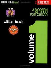 A MODERN METHOD FOR GUITAR, Vol. 1 by William Leavitt (1995, CD / Paperback)